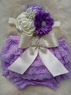 Lavender Bloomers/Baby Bloomers/Ruffle Bloomers/Toddler Bloomers/Newborn Bloomers/Birthday Bloomer/Infant Bloomers/Lace Bloomers/Cake Smash by OohLaLaDivasandDudes on Etsy Baby Bloomers, Baby Girl Romper, My Baby Girl, Baby Dress, Baby Hair Bows, Baby Headbands, Flower Headbands, Newborn Outfits, Kids Outfits