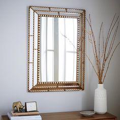 Peruvian Artisan Mirror - Large Rectangle