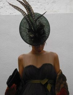 #Cherubina  #tocado  #boda  #wedding  #headpiece  #hat