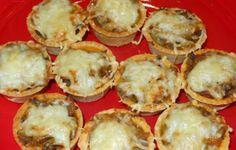 Tarteletas de berenjenas Una buena opción para preparar berenjenas.