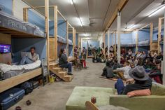 With the rise of community living and workcations, an alternative might be to just sleep where you cowork.