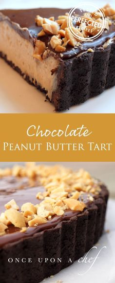Chocolate Peanut Butter Pie - looking for a recipe for Christmas dessert? Chocolate Peanut Butter Pie - looking for a recipe for Christmas dessert? Beaux Desserts, Köstliche Desserts, Chocolate Desserts, Delicious Desserts, Chocolate Tarts, Health Desserts, Sweet Desserts, Chocolate Avacado, Chocolate Smoothies