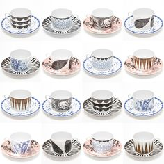 {porcelain cups} by Anna Backlund