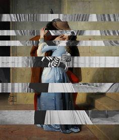"""Hayez's """"The Kiss"""" & Clark Gable and Vivien Leigh - DAILYBEST"""