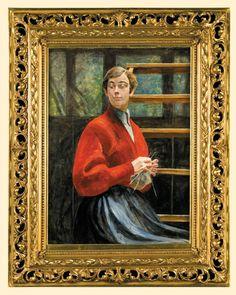Jacek Malczewski | W pracowni artysty. Portret dziewczyny, 1922 | olej, tektura | 94.7 x 69 cm