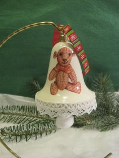 Christmas bell - bear