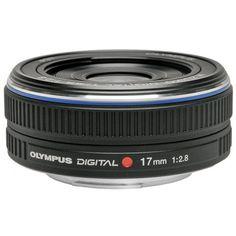 Olympus M.Zuiko 17mm f/2.8 Micro ED Digital Lens (Black) for PEN Micro 4/3 E-P1, E-P2, E-P3, E-PL1, E-PL2, E-PL3, E-PM1 Cameras