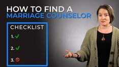 We'll explain 3 things you may not know about counseling and how it works so you can decide if it's what you should do to save your marriage.