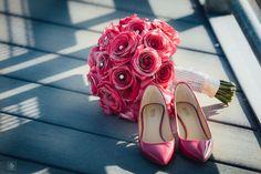 Pink Bridal Bouquet | Bridal Bouquet Ideas | Michael Korrs Bridal Shoes | Pink Bridal Shoes | Bridal Details | Philadelphia Wedding | Destination Wedding www.potoksworldphotos.com