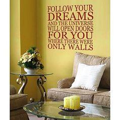 jiubai ™ d'inspiration citation sticker mural de décalque de mur – CAD $ 30.57