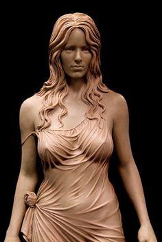 Angel Sculpture, Roman Sculpture, Famous Sculptures, Animal Sculptures, Paper Sculptures, Exotic Art, Oeuvre D'art, Amazing Art, Awesome