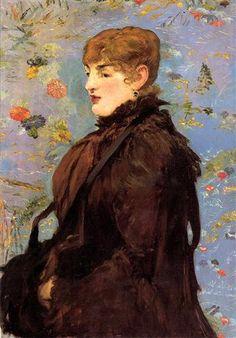 Edouard Manet - Autumn (Study of Mery Laurent), 1882