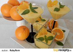 Pomerančový krém