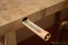 //\\ palo samko - artist woodworker - love this little pencil drawer.