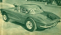 Mazmanian Corvette, a classic!