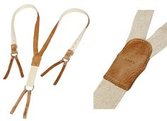 Levi's Japan Vintage Elk Leather Suspenders