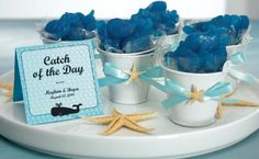 blue and white #beach decoration ideas