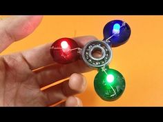 3 Awesome Hot Glue Life Hacks - How to make fidget spinner