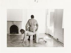 Duane Michals, Man to Man, 1977, 5 of 8