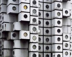 Retro futurismus v japonské architektuře - Freshspace