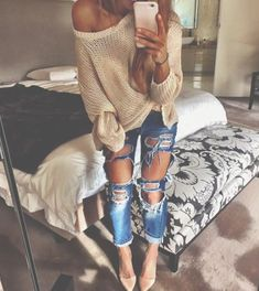 Get The Jeans - Get The Sweater - Get The Heels