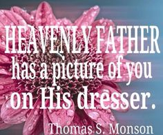 Lots of LDS inspirational quotes. I think this one is just the sweetest thought. Lds Quotes, Quotable Quotes, Cute Quotes, Great Quotes, Mormon Quotes, Prophet Quotes, Lds Church, Church Ideas, Church Quotes