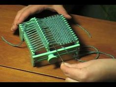 How to use a small wonder weave loom. I just found one of at a thrift store.