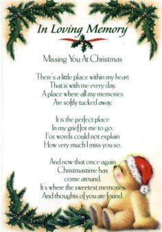 In Loving Memory /Christmas