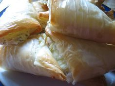 Home Cooking In Montana: Cheese Phyllo Dough Triangles