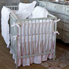 same lines as Ikea Sniglar crib with skirt