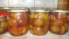 Slivky do koláčov na zimu (fotorecept) Pickles, Cucumber, Ale, Food, Ale Beer, Essen, Meals, Pickle, Yemek