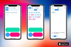 New version of Codes with iPhone X support is out. See https://itunes.apple.com/us/app/itu-morse-codes/id1150640591 for details.