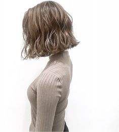 {30DBAED5-9CF9-4874-9226-26AD9702410B} Short Bob Hairstyles, Curled Hairstyles, Medium Hair Styles, Short Hair Styles, Pop Hair, Hair Arrange, Creative Hairstyles, Perm, Cut And Color