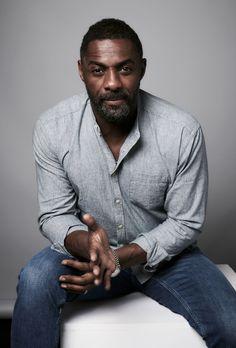 "celebsofcolor: ""Idris Elba attends THE CONTENDERS 2017 Portrait Studio: Presented by Deadline Hollywood on November 2017 in Los Angeles, California. Idris Elba, Massacre Quaternário, Actor Idris, Smart Casual Menswear, Black Actors, Famous Men, Attractive Men, Gorgeous Men, Beautiful People"