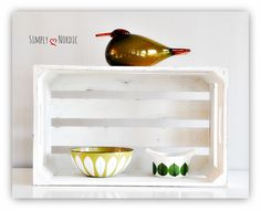 Cathrineholm - Avocado Green Berså Two-way Creamer Green Eider by Oiva Toikka Iittala