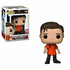 Spider-man: Far From Home - Spider-man (borrowed jersey), Marvel Collector Corps exclusive ★ Spiderman Pop Vinyl, Marvel Pop Vinyl, Funko Spiderman, Marvel Legends, Tom Holland, Dibujos Toy Story, Funko Pop Anime, Funko Pop Avengers, Funko Pop Dolls