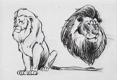 Living Lines Library: The Lion King - Character: Mufasa The Lion King 1994, Lion King Art, Disney Animation, Animation Film, Animation Reference, Kimba The White Lion, Lion Sketch, Disney Animated Films, Dnd Art