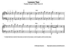 piano waltz lesson