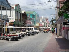 Downtown San Pedro, Belize