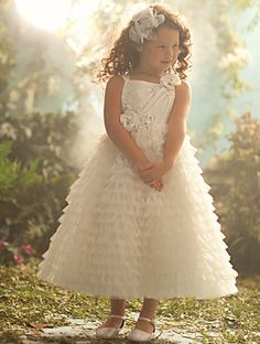 Disney Blossoms by Alfred Angelo Style #707 for your little Sleeping Beauty #AlfredAngelo www.alfredangelo.com