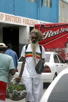 Jamaica ~ This dread might be a little annoyed his picture was taken. I hope he is well.