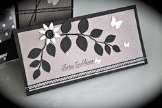 Groseilles  CO: carte de condoléance feuillage