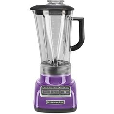 KitchenAid KSB1575MY 5-Speed Diamond Blender with 60-Ounce BPA-Free... ($140) :heart: liked on Polyvore featuring home, kitchen & dining, small appliances, diamond blender, kitchen aid coffee maker, kitchen aid diamond blender, kitchenaid blender and bpa free coffee maker