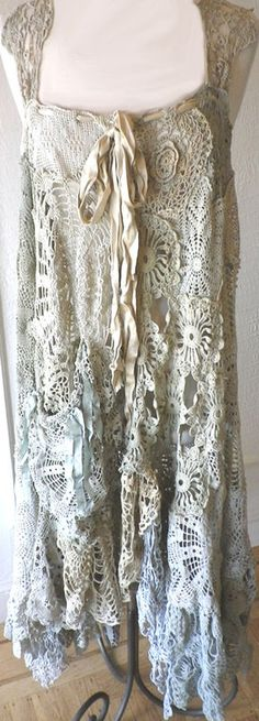 Magnoila Pearl Piece Doily dress. Made in the USA item.