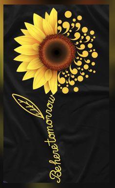 Sunflower Quotes, Sunflower Pictures, Sunflower Art, Sunflower Tattoos, Cute Wallpapers, Wallpaper Backgrounds, Sunflower Wallpaper, Body Art Tattoos, Tatoos