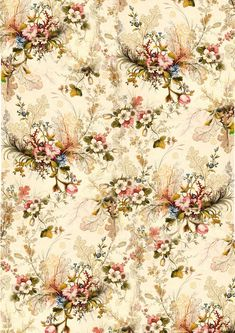 New Vintage Background Iphone Florals Print Patterns 39 Ideas Wallpapers Vintage, Vintage Flower Backgrounds, Vintage Flowers Wallpaper, Flower Phone Wallpaper, Victorian Wallpaper, Print Wallpaper, Background Vintage, Wallpaper Backgrounds, Vintage Paper