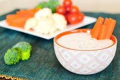 21 Day Fix Ranch Dip - The Foodie and The Fix