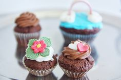 Small cupcakes  ,rainbow  For kids