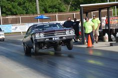 Thanks Jegs for helping me get my 3700 lbs. 69 Chevelle running deep into the 9s NA, on street tires and through the exhaust. She went 5.98 in the 1/8th and 9.43 in the 1/4 last night during testing last night.
