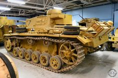 Panzer III Ausf L at Tank Museum , Bovington, Britain